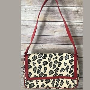 Baekgaard Vera Bradley Shoulder Bag Snow Leopard